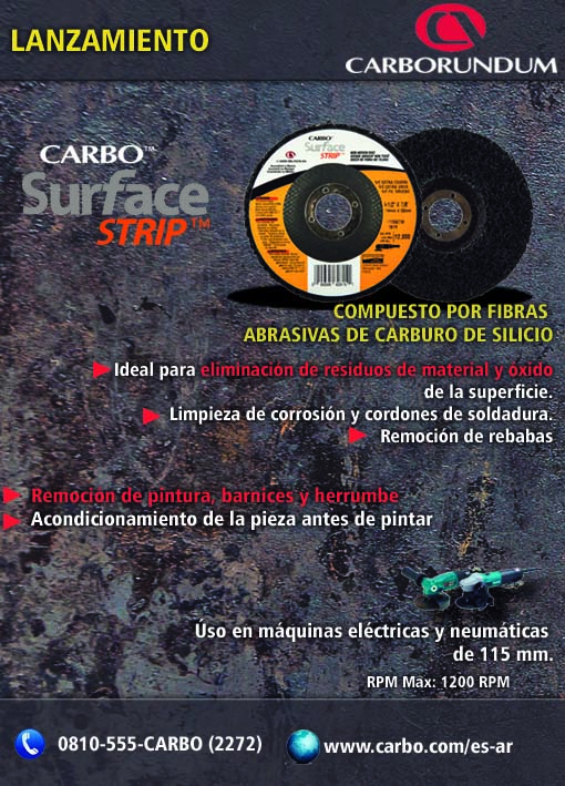 Lanzamiento Surface Strip Carbo EXT