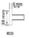 PUNTA MONTADA W235