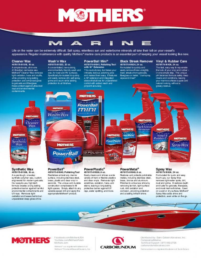 Mother's Products for the Carbo Marine Market