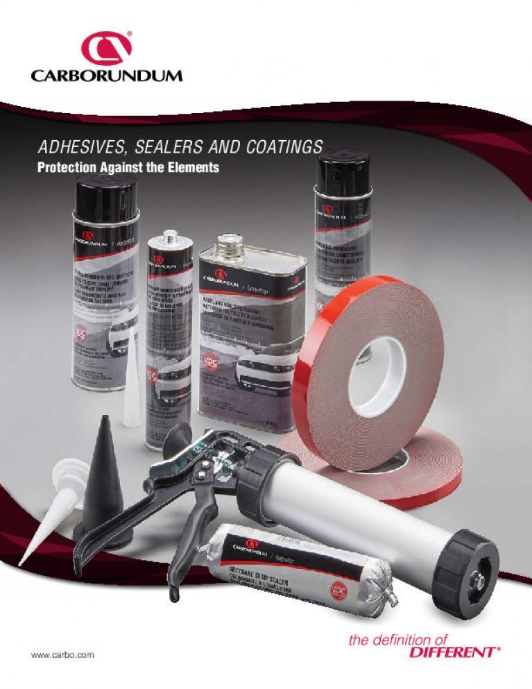 Adhesives, Sealers and Coatings Brochure - CA5233