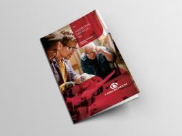 Bifold Brochure Mockup - B&C