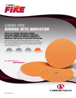 Carbo Fire D 2515 DO Dri-Lube Paper Disc Flyer - CA5913