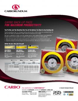 Carbo Back Up Pads Flyer - CA5452