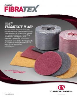 Carbo Fibratex Non-Woven Thin-Flex Scuff Pads Brochure - CA5234