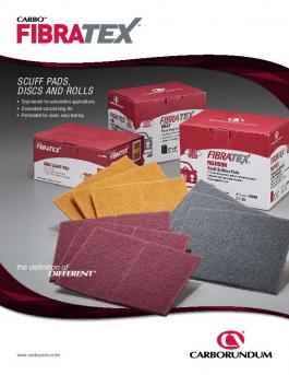 Non-Woven Fibratex Scuff Pads, Discs, and Rolls Flyer - CA5660