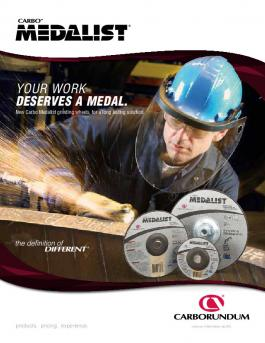 Carbo Medalist Grinding Wheels Flyer - CA10103