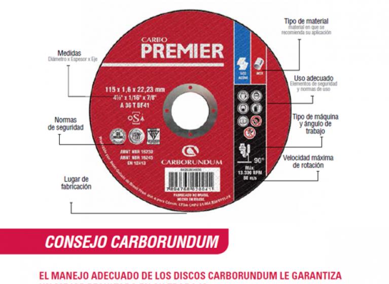 Conozca Nuestros Discos Carborundum
