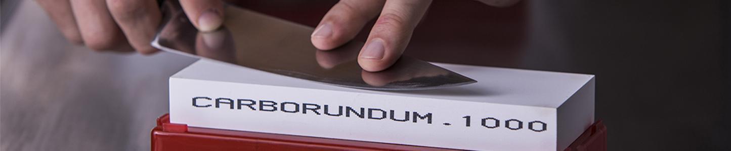 ¡La Piedra del Indio trae la tradición de Carborundum en el momento del afinado perfecto!